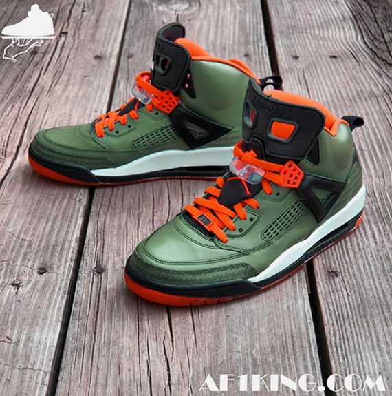 Jordan Spiz'ike UNDFTD Customs by GourmetKickz