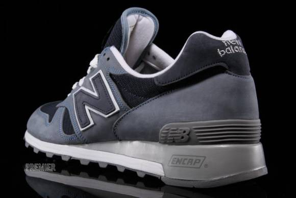 New Balance 1300 Made in the USA Light Blue Navy