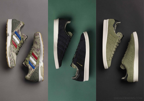 New Release Date Bape x UNDFTD x adidas Originals Consortium Collection