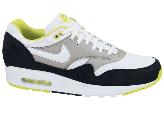 Available Now Nike Air Max 1 Essential White Yellow Black