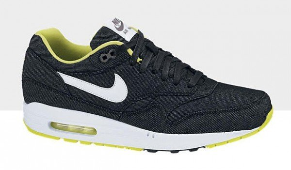 lowest price e8172 fd713 nike-air-max-1-premium-denim-black-white-