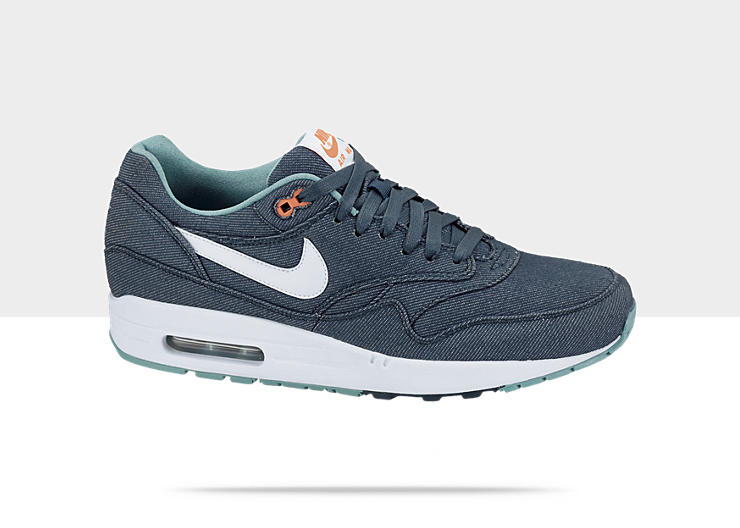 9c56f73e65e Nike Air Max 1 Premium Denim  Midnight Turquoise White