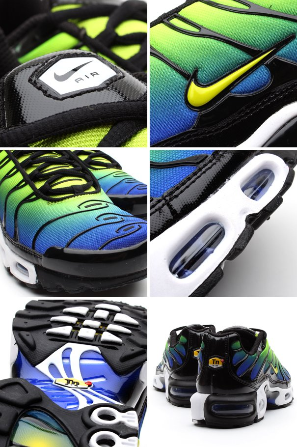 the latest 6b178 a0f48 Nike Air Max Plus 'Hyper Blue/Cyber-Black' | SneakerFiles