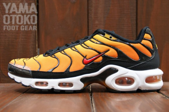 Nike Air Max Plus Tour Yellow Team Orange Black