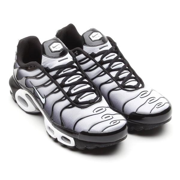 "Nike Air Max Plus 'Wolf GreyWhite Black' SneakerFiles ""title = SneakerFiles"