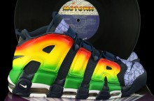 Nike Air More Uptempo 'Motown' Customs by Revive