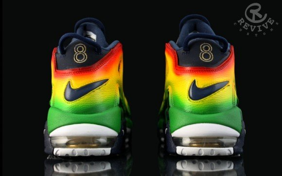 Nike Air More Uptempo Motown Customs by Revive