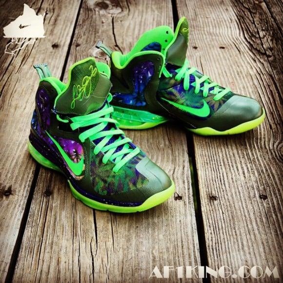 Nike LeBron 9 420 Customs by GourmetKickz