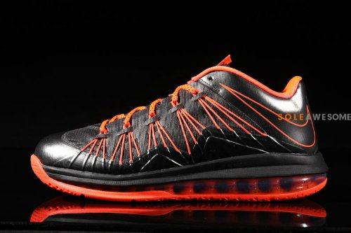 differently 15fab 0bb98 Nike LeBron X 10 Low Black Orange   New Images new