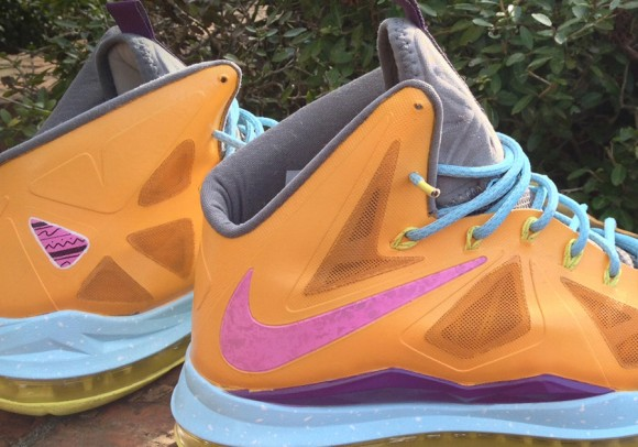 Nike LeBron X Easter Customs by Jparker Designs