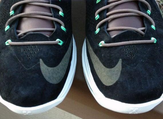 Nike LeBron X EXT Black Nubuck