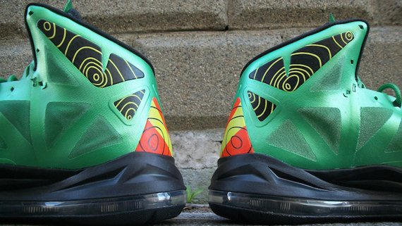 Nike LeBron X Weatherman Customs by Sab One