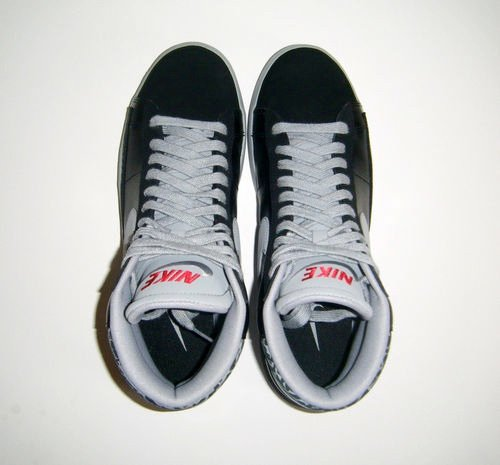 Nike Lunar Blazer Black Cement Sample 2