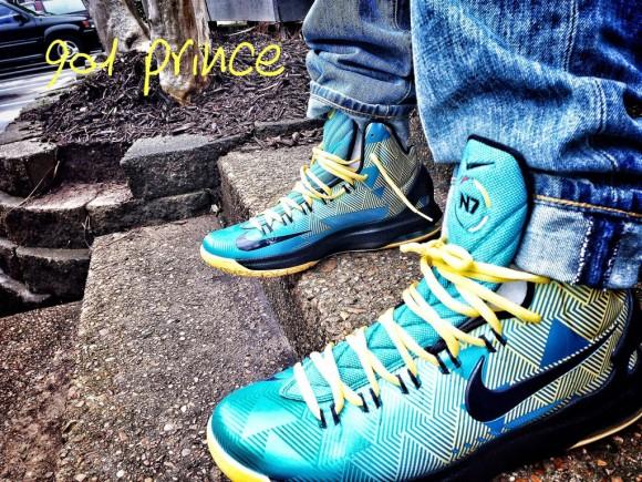 Nike N7 KD V On Foot