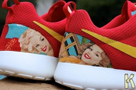 Nike Roshe Run Island Girl Customs