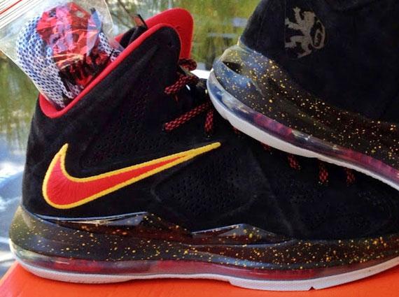 Nike X Miami Heat Black Suede PE LeBron