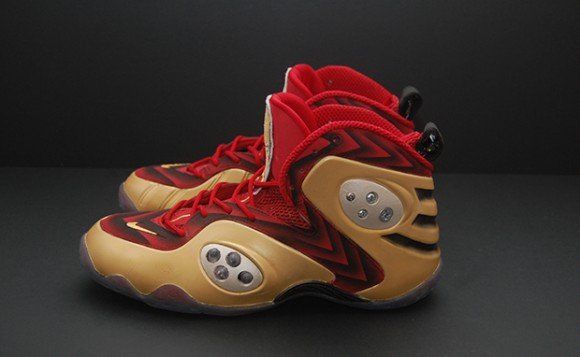 Nike Zoom Rookie Iron Man 3 Custom