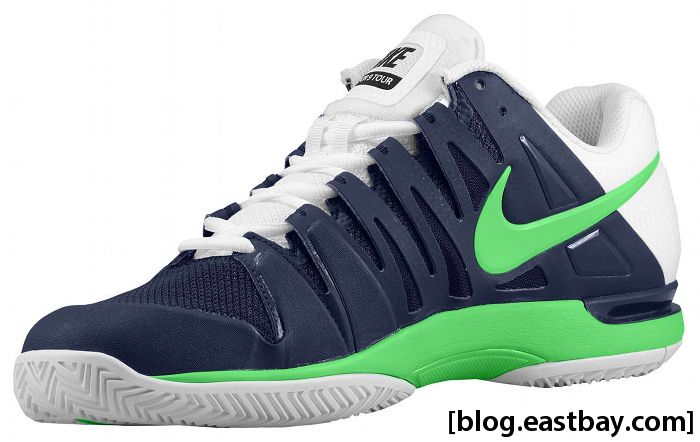 Nike Zoom Vapor 9 Tour Midnight Navy White Poison Green