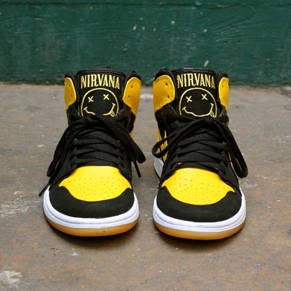 Nirvana Air Jordan 1 Customs by Element 97