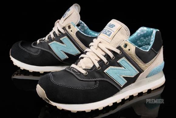 new balance 574 floral