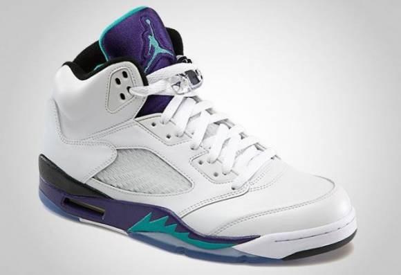 Official Images Air Jordan V 5 Grape