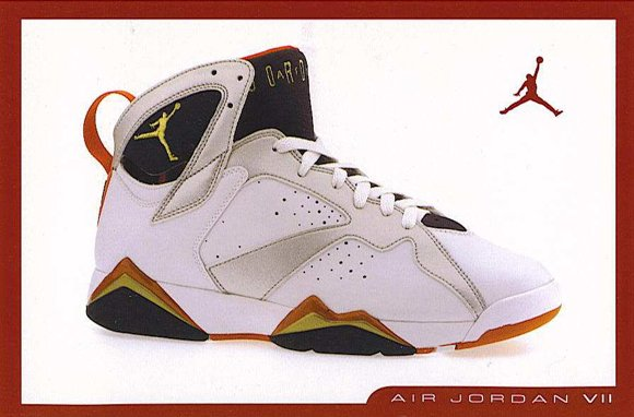 Olympic Air Jordan 7 Retro Card
