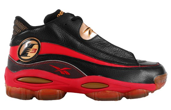 Reebok Answer DMX Black Red