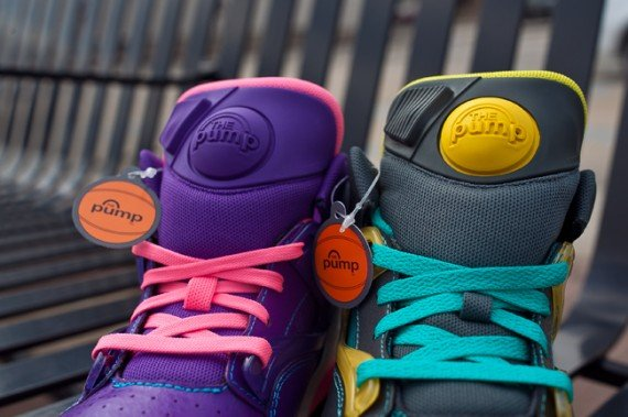 Reebok Pump Omni Lite GS April 2013 Colorways