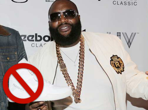 Reebok to End Partnership with Rick Ross