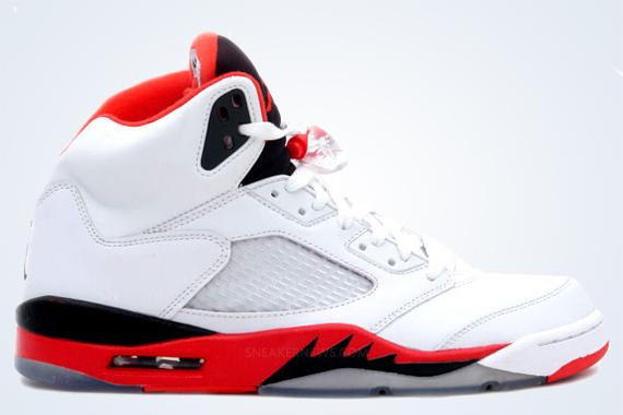 Release Date Fire Red Air Jordan V