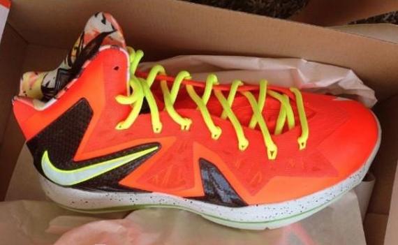 Release Date Total Crimson Nike LeBron X Elite