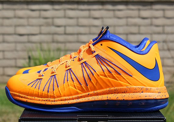 hot sales 2111b 767d5 Release Reminder Nike LeBron X Low Bright Citrus