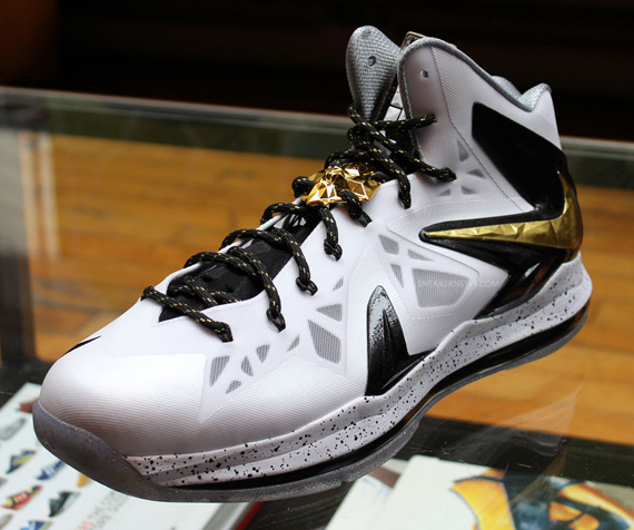 Release Reminder White Gold Nike LeBron X P.S. Elite