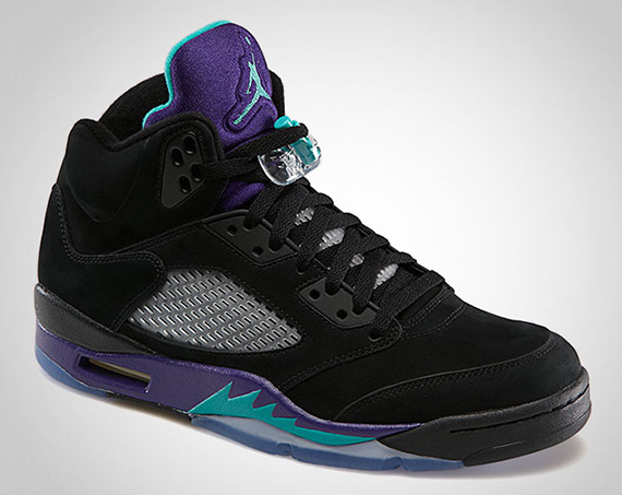 Release Update Black Grape Air Jordan V