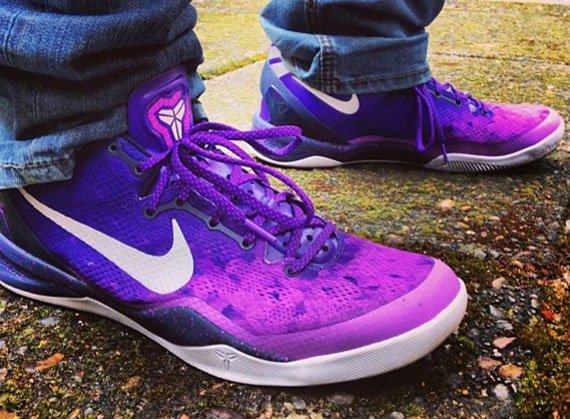 Release Update Nike Kobe 8 Purple Gradient