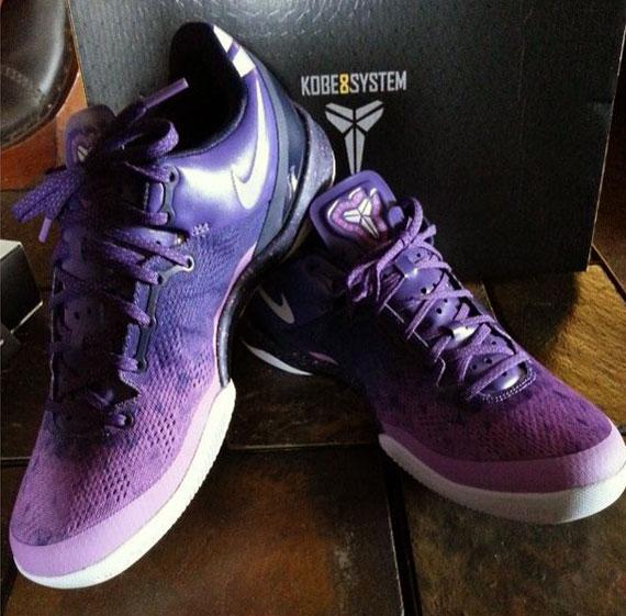 Release Update Nike Kobe 8 Purple Gradient