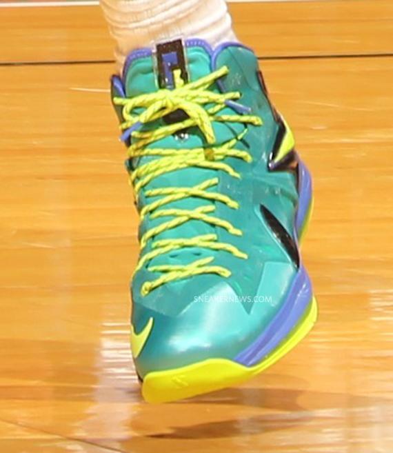 Release Update Nike LeBron X Elite Sport Turquoise Volt Violet Force