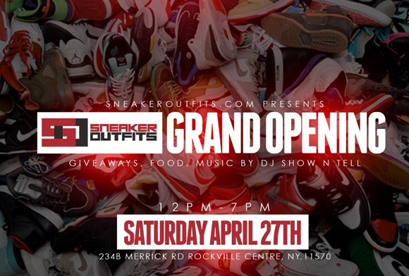 SneakerOutfits Store Grand Opening