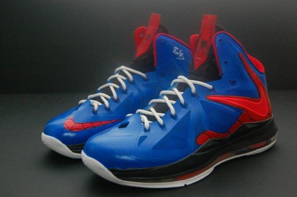 Spiderman Nike Lebron X by JP Custom Kicks