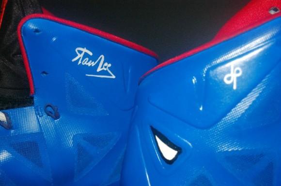 Spiderman Nike Lebron X by JP Custom Kicks