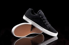 SUPRA Assault Low Top 'Black Suede'