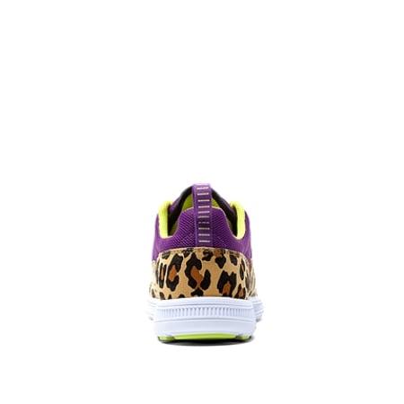 Supra Womens Owen Low Purple Cheetah