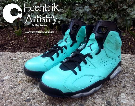 Tiffany Air Jordan VI
