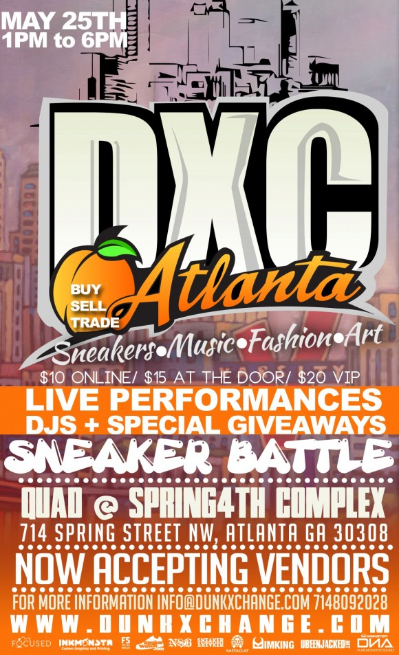 Upcoming Event Dunkxchange Atlanta May 25th