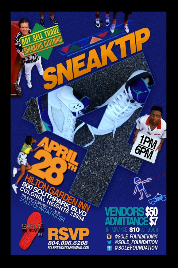 Upcoming Event Sneaktip Sneaker Convention