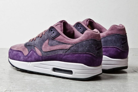Get Your Purp Air Max 1 Purple Suede