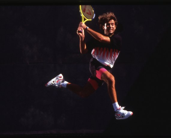 Andre Agassi Returns To Nike