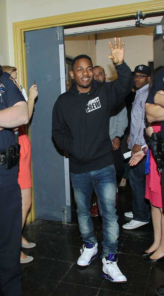 Kendrick Lamar In Air Jordan V 5 Grape Sneakerfiles