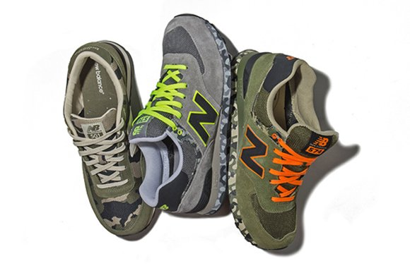New Balance 2013 Spring Summer Camo Pack