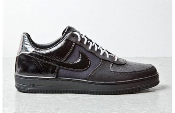 Nike Air Force 1 Downtown Black Leather 5